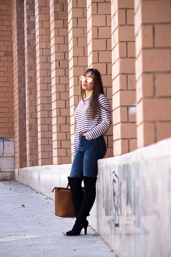 look-jeans-rayas